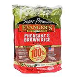 Evangers Pheasant and Rice Dog Food 4.4 lb title=