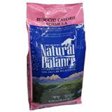 Natural Balance Reduced Calorie Dry Cat Food 6lb