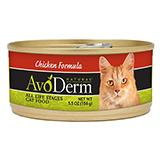 AvoDerm Chicken Formula Canned Cat Food 5.5 oz single can