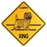 Xing Sign Cairn Terrier Plastic 10.5 x 10.5 inches