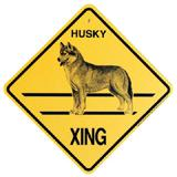 Xing Sign Husky Plastic 10.5 x 10.5 inches