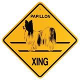 Xing Sign Papillon Plastic 10.5 x 10.5 inches