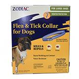 Zodiac Flea and Tick Collar 7 Month Large Dog
