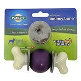 Busy Buddy Bouncy Bone Small Treat Dispensing Dog Toy