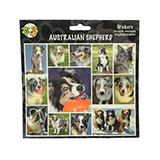 Arf Art Dog Sticker Pack Australian Shepherd