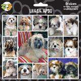 Arf Art Dog Sticker Pack Lhasa Apso