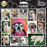 Arf Art Dog Sticker Pack Pekingese