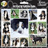 Arf Art Dog Sticker Pack Bernese Mountain Dog