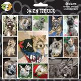 Arf Art Dog Sticker Pack Cairn Terrier