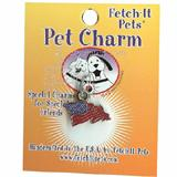 Pet Tag Collar Charm American Flag