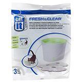 Cat-It Fresh & Clear Fountain Small Filter 3pk
