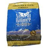 Natural Balance Green Pea & Duck Cat Food 10lb