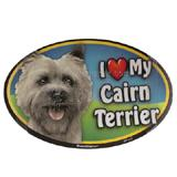 Dog Breed Image Magnet Oval Cairn Terrier