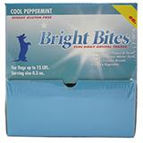 Bright Bites Peppermint Small Case Dog Dental Treat