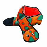 Invincible Snake 6 Squeaker Dog Toy