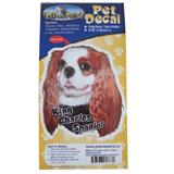 6-inch Vinyl Dog Decal King Charles Cavalier Spaniel Picture