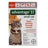 Bayer Advantage II Cat 5-9 pound 6-pack Flea Control