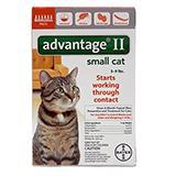 Bayer Advantage II Cat 5-9 pound 6-pack Flea Control