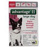 Bayer Advantage II Dog 21-55 lb 6 pack