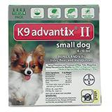 Bayer Advantix II Dog 1-10 lb 4 pack