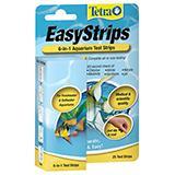 Tetra 6 in 1 Easy Aquarium Test Strips 25ct