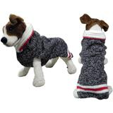 Handmade Dog Sweater Wool Boyfriend Shawl Small