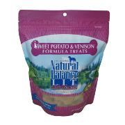 Natural Balance Sweet Potato and Venison Dog Treats 14-oz.
