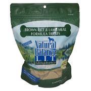 Natural Balance Lamb and Rice Dog Treats 14-oz.