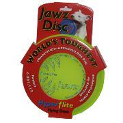 Hyperflite Jawz Lemon-Lime Competition Dog Sport Disc