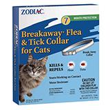 Zodiac Breakaway Flea and Tick Cat Collar
