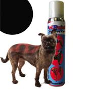 Pet Paint Black Color Spray for Dogs 5 oz.