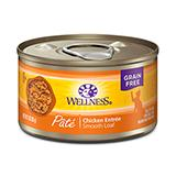Wellness Cat Chicken 3 oz each