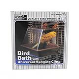 Penn Plax Plastic Bird Bath Medium for Small Birds