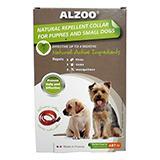 Alzoo Natural Flea and Tick Repellent Dog Collar Small