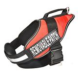 Alpha Multi Purpose Harness Red Large