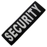 Removable Velcro Patch Security Large / XLarge