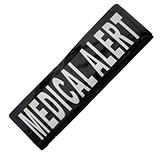 Removable Velcro Patch Medical Alert Small / Medium