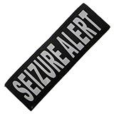 Removable Velcro Patch Seizure Alert Large / XLarge