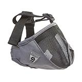 Dog Muzzle Short Snout Medium Charcoal
