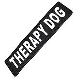 Removable Velcro Patch Therapy Dog XSmall