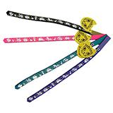 Beastie Band Cat Collar Bunnies & Flowers