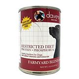 Daves Restricted Diet Protein-Phosphorus Chicken 13oz case