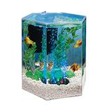 Tetra Betta Hexagon Color Changing LED 1 gallon