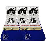 CatBib WildBird Saver Royal Blue Small 3 pack
