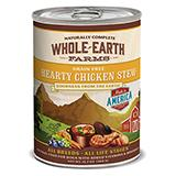 Whole Earth Grain Free Chicken Stew 12oz case