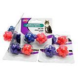 Spotnips Atomic Ball 2 pack Cat Toy 6 pack