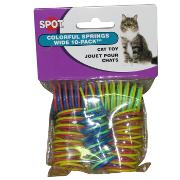 Spotnips Colorful Springs 10 Pack Cat Toy 3 pack