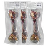 Cooked and Smoked Real Ham Bone Dog Chew 3 pack