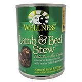 Wellness Lamb Beef Dog Food 13oz each