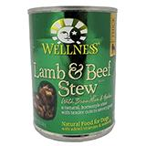 Wellness Lamb Beef Dog Food 13oz case